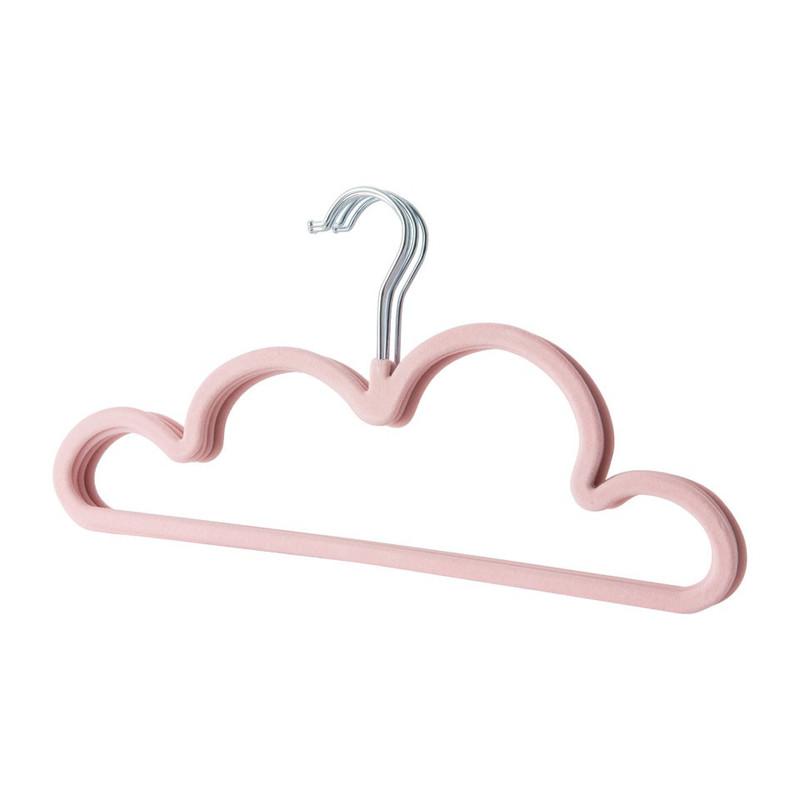 Kinderkledinghanger - wolk - set van 5