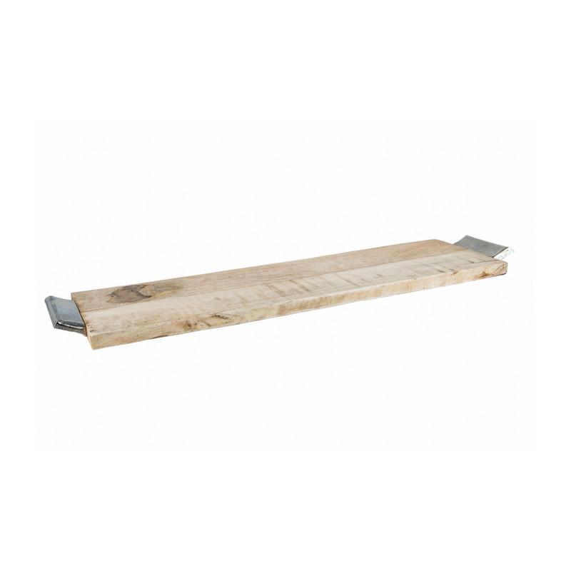 Serveerplateau hout - 72x19 cm