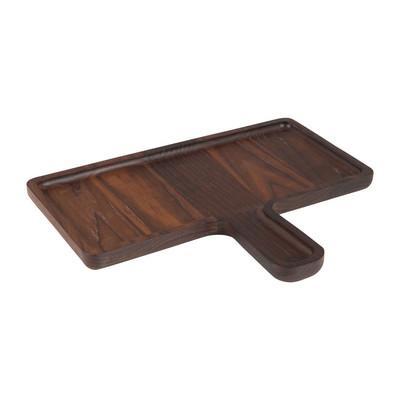 Plank met greep - hout - 27.5x14 cm