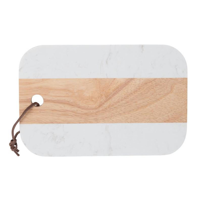 Snijplank - marmerlook - 23x15 cm
