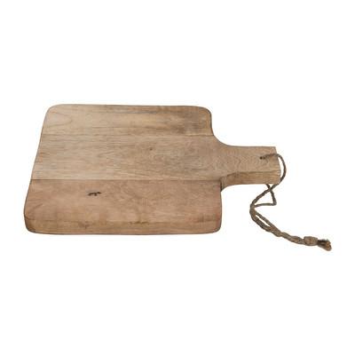 Snijplankje van mangohout - vierkant - 18x25 cm