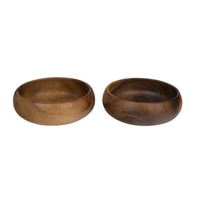Acacia schaaltje - 14 cm - set van 2