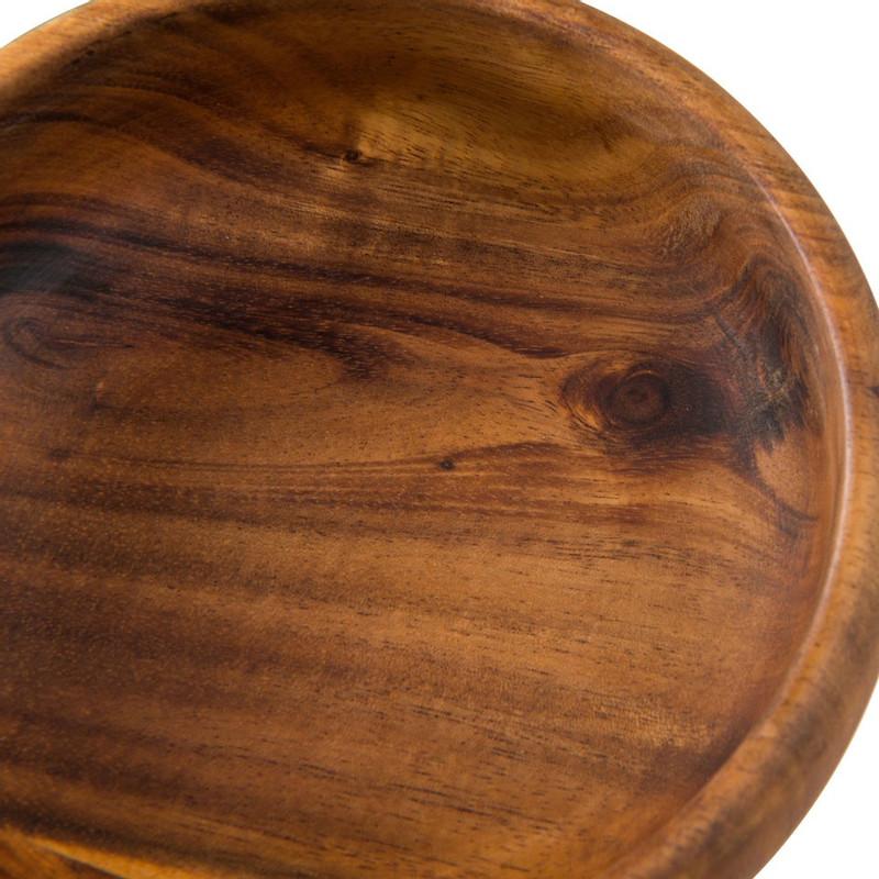 Schaaltjes acacia - 12 cm - set van 4