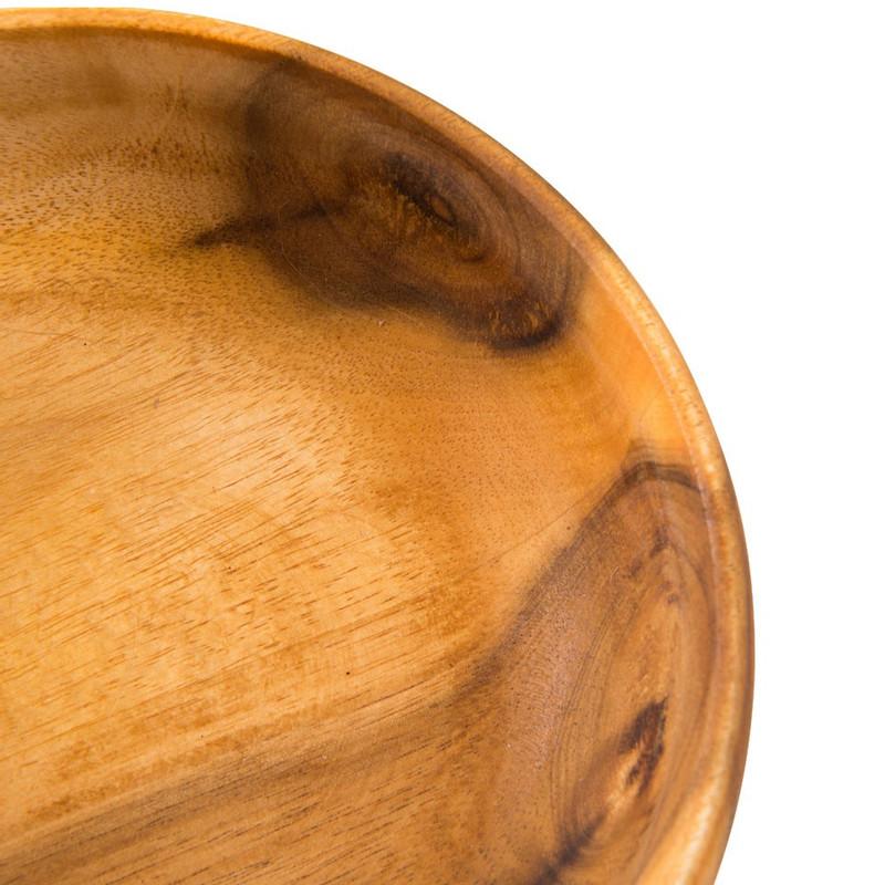 Schaaltjes acacia - 14 cm - set van 2