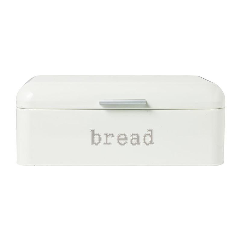 Broodtrommel retro - crème