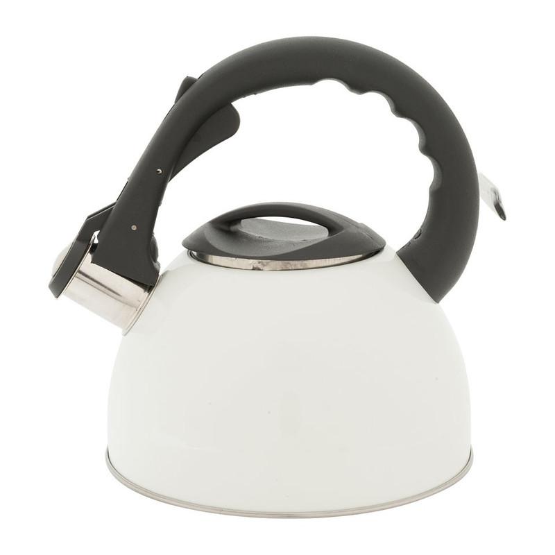Fluitketel retro - crème - 2 liter