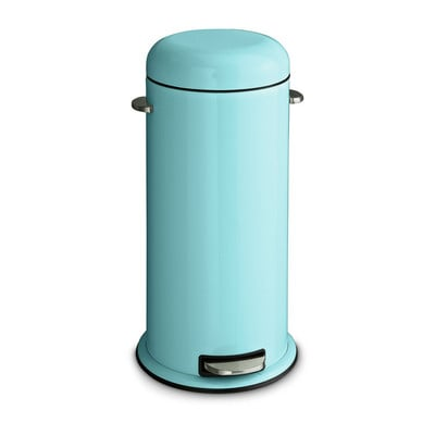Pedaalemmer retro - 30 liter - blauw