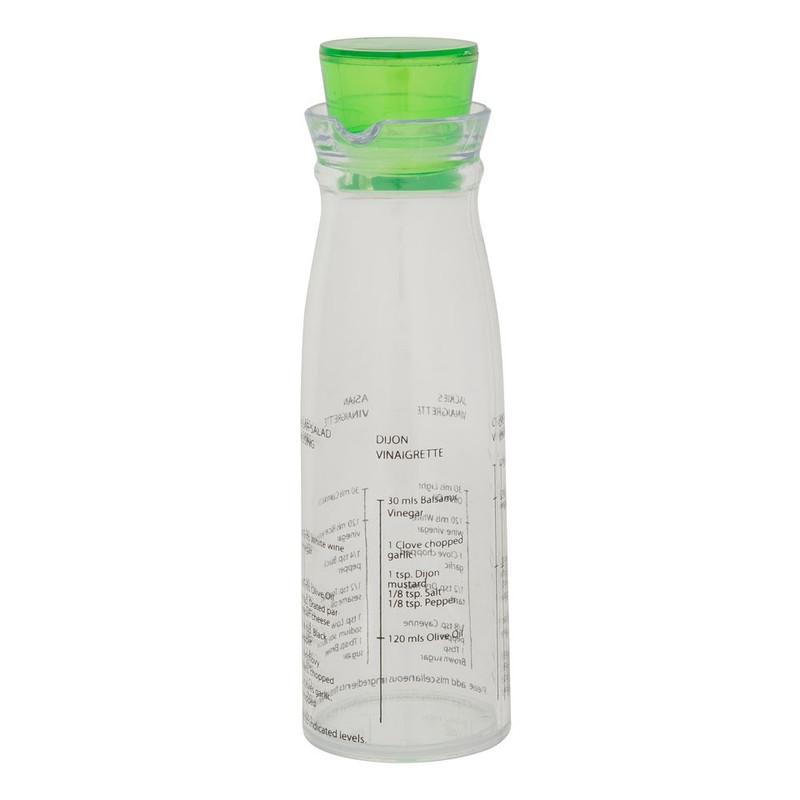 Maak de lekkerste dressing met de dressing shaker met recepten. op de shaker staan 5 dressing recepten, je ...