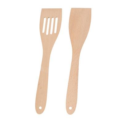 Spatel hout - set van 2