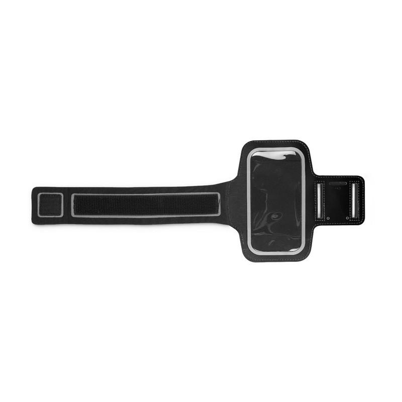 Universele sportarmband - 4 inch - zwart
