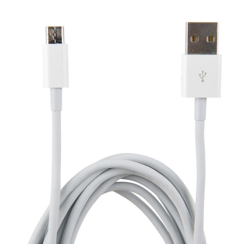 Micro USB kabel - grijs - 300 cm