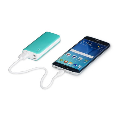 Mobiele oplader - 4400 mAh - groen