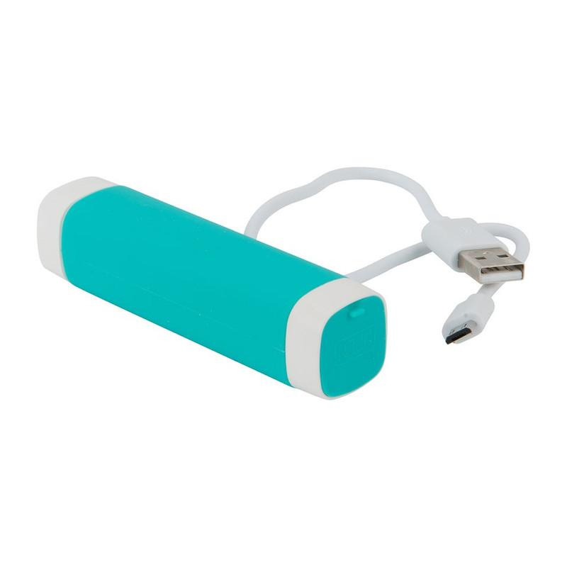 Mobiele oplader - 2600 mAh - groen