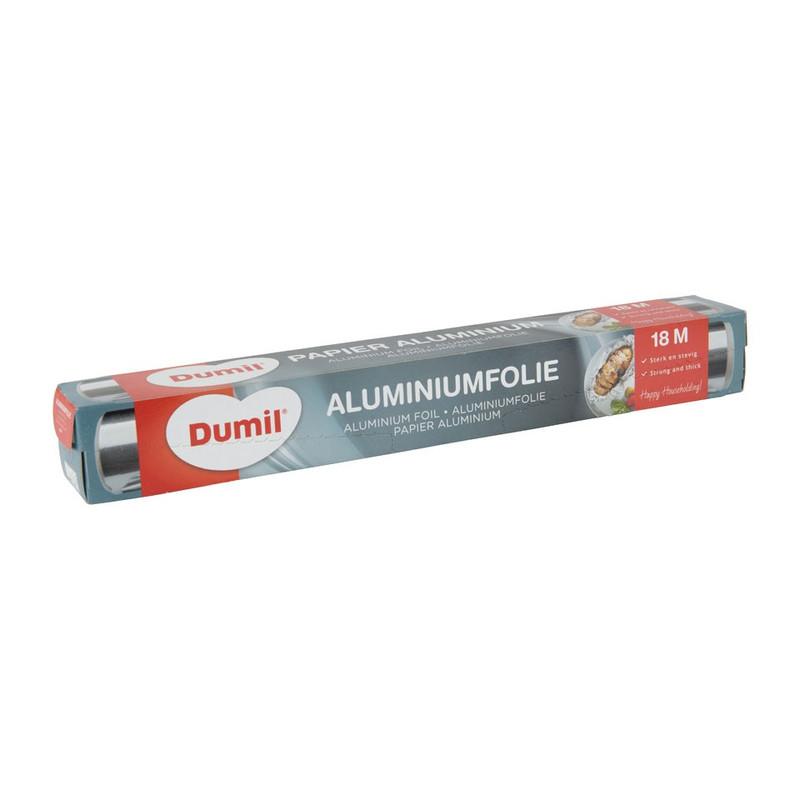 Aluminiumfolie - 18 m.