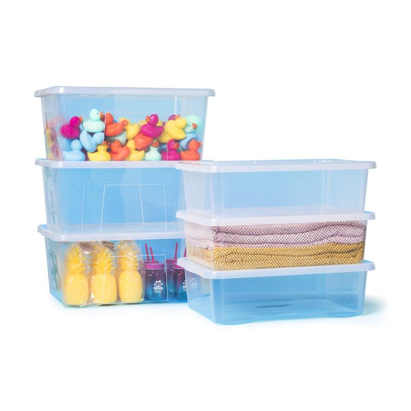 Badeendjes - multikleur - set van 5