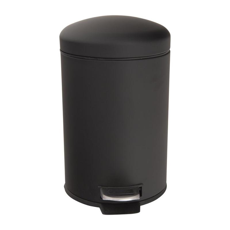 Pedaalemmer basic - 3 liter - zwart