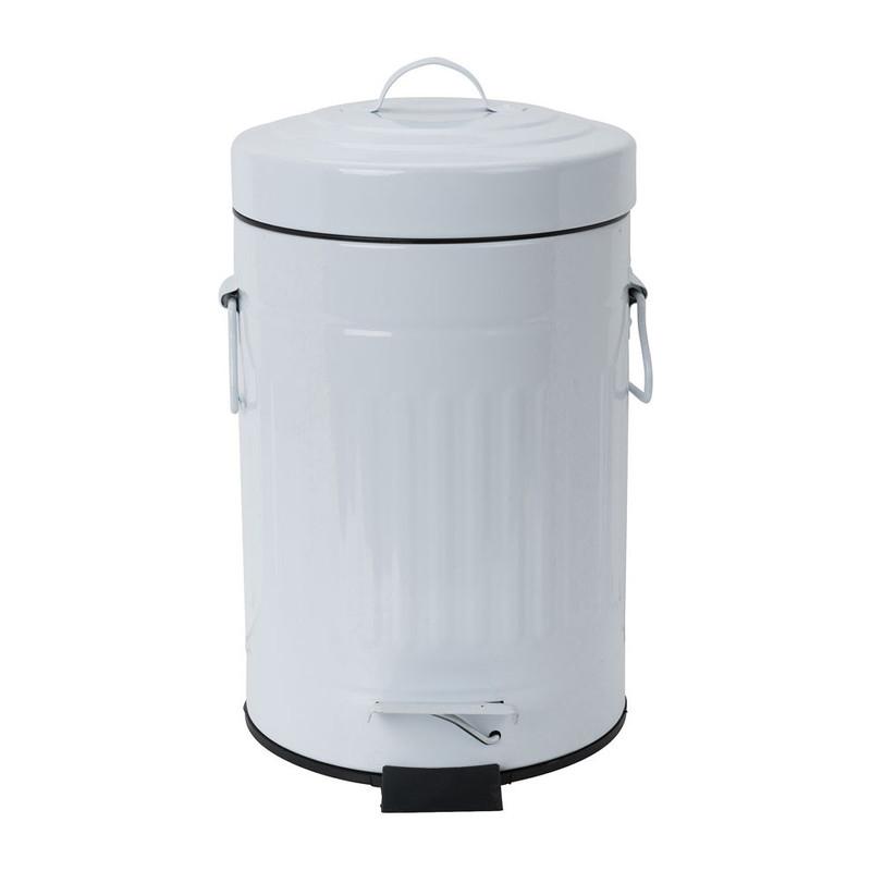 Pedaalemmer lijnen - 3 liter - wit