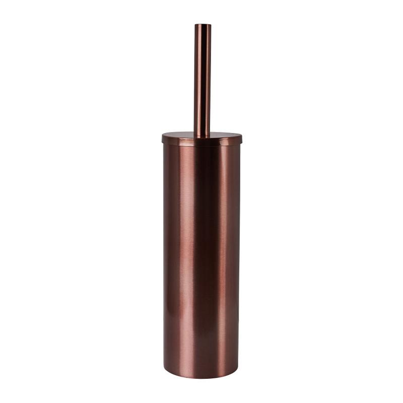 Toiletborstel - koper - ø8.9x8.3x40 cm