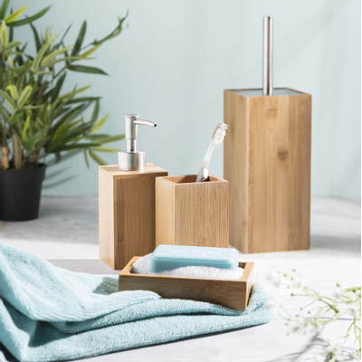 Toiletborstel bamboe