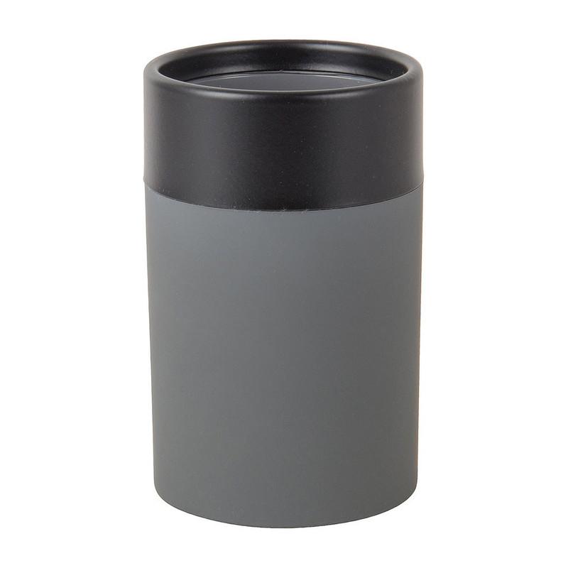Beker grijs/zwart