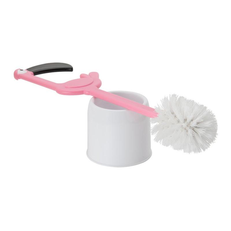 Toiletborstel flamingo