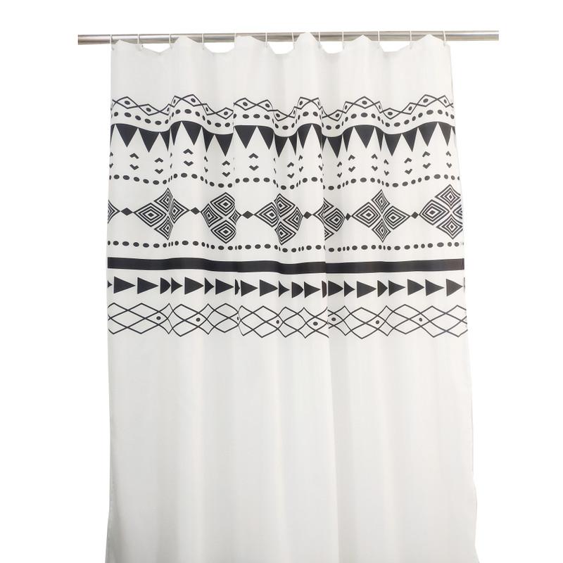 Douchegordijn azteken - 180x200 cm
