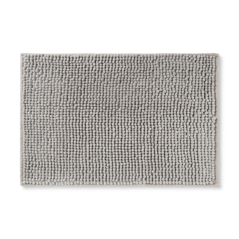 Badmat chenille - beige - 40x60 cm