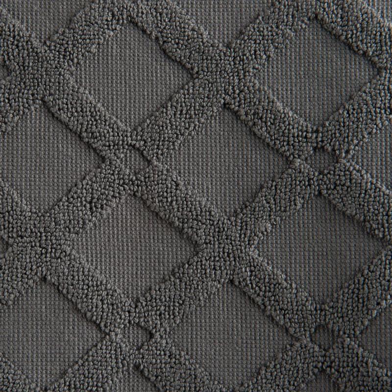 Badmat X - 50x80 cm - antraciet