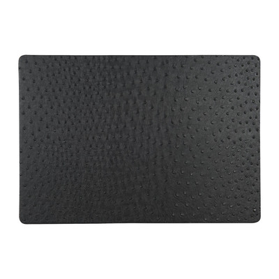 Placemat leatherlook stip - 43x30 cm