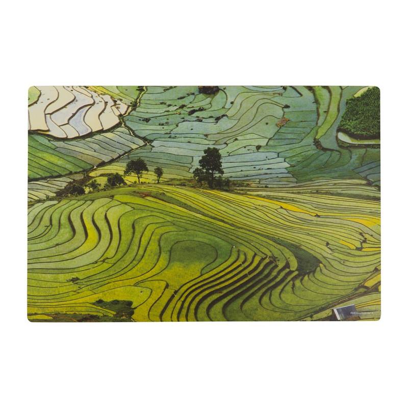 Placemat rijstvelden - 45x30 cm