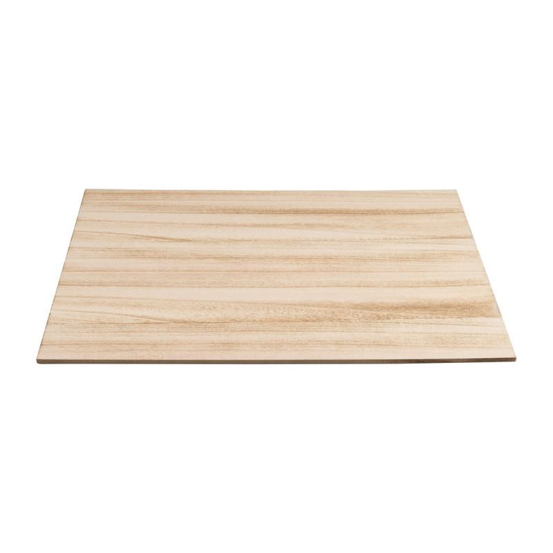 Placemat hout - 30x40 cm