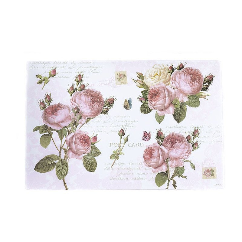 Placemat romantic roses - 30x45 cm