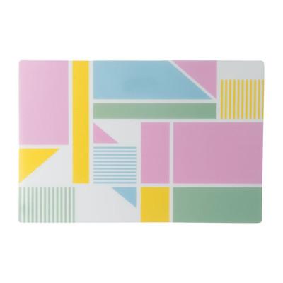 Placemat colour blocking - 43x38 cm