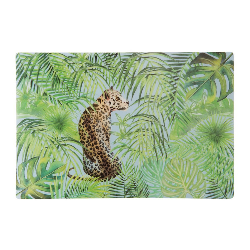 Placemat tropical garden - 43x28 cm
