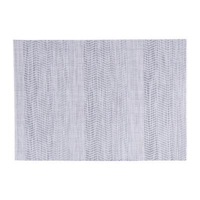 Placemat - wit/grijs - 50 x 35 cm