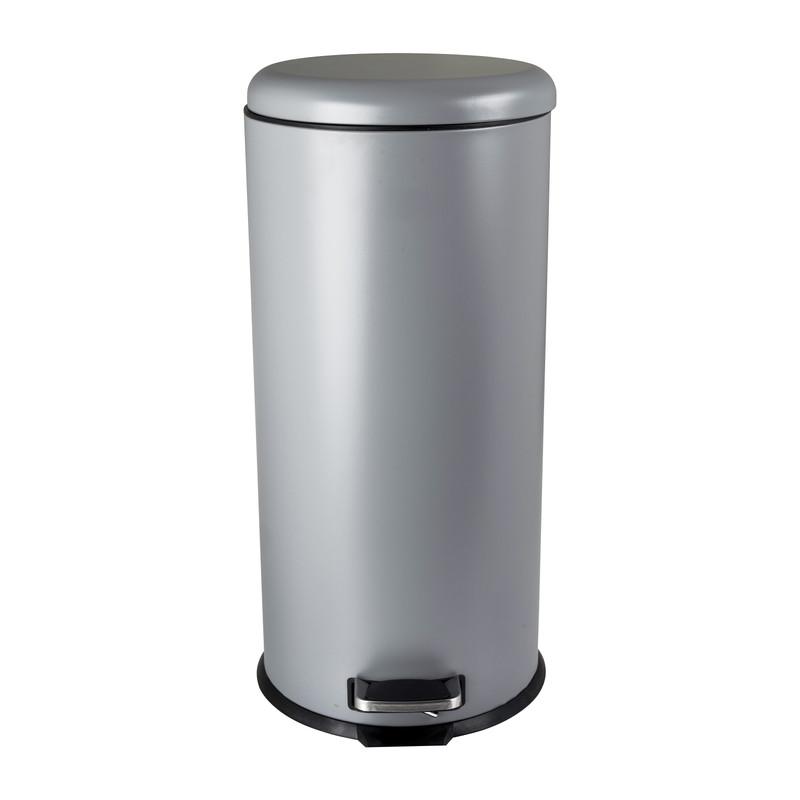 Pedaalemmer colour - grijs - 30 liter