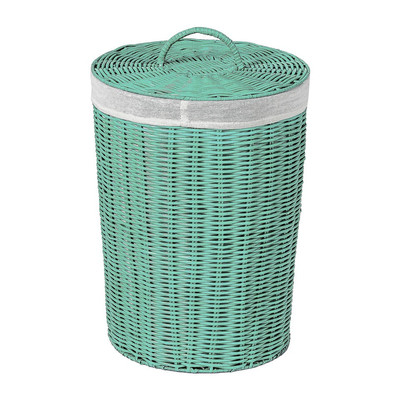 Wasmand - 30x43 cm - groen