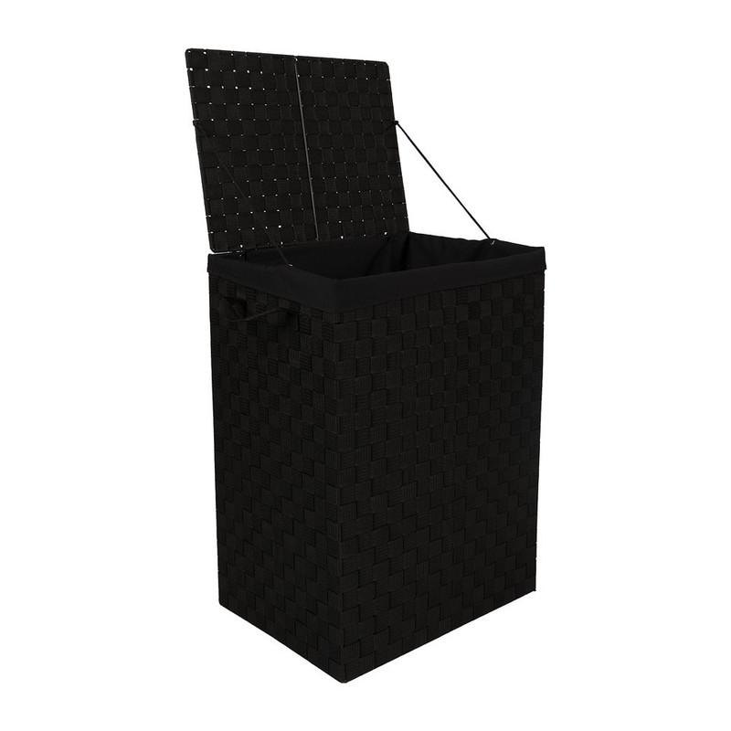 Wasmand XL - 33x44x60.5 - zwart
