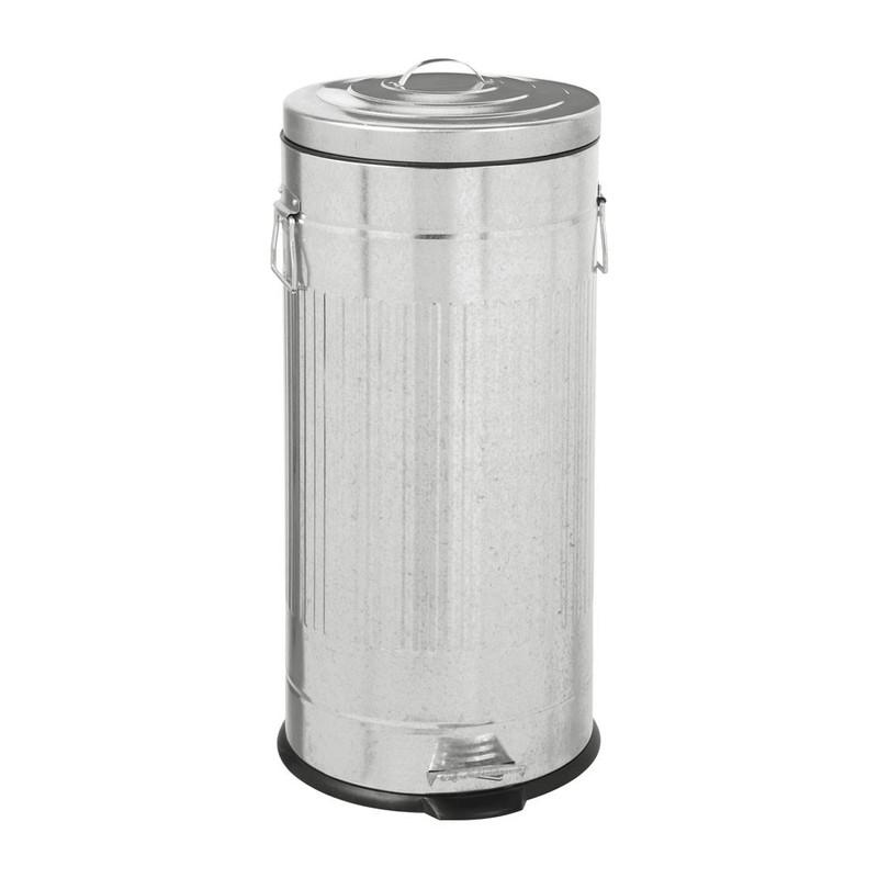 Pedaalemmer - 30 liter - RVS