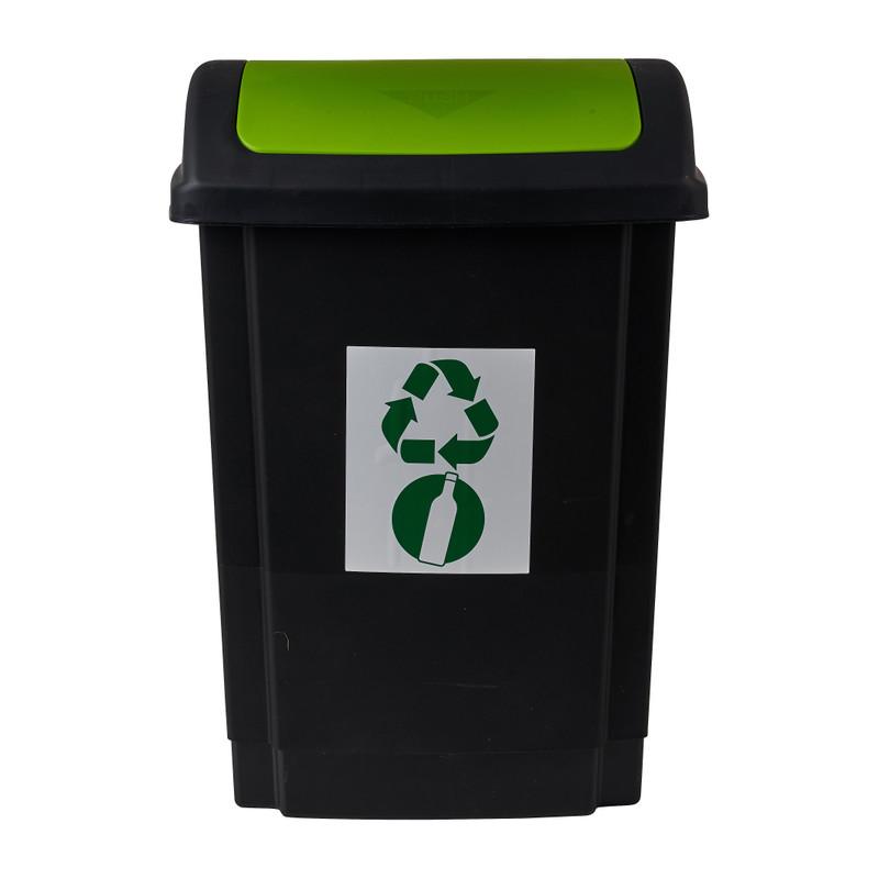 Prullenbak - groen - 25 liter