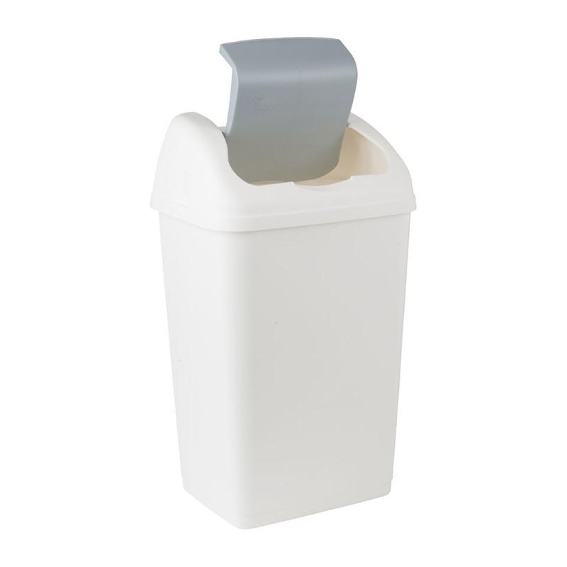 Afvalemmer Althea - 18 liter - wit