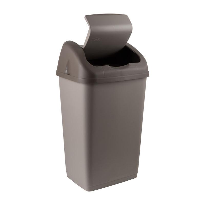 Afvalemmer Althea - 35 liter - grijs