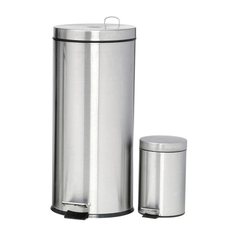 Pedaalemmer 30 + 3 liter - mat