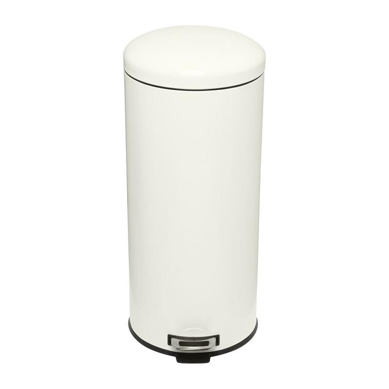 Pedaalemmer XL - 30 liter - crème