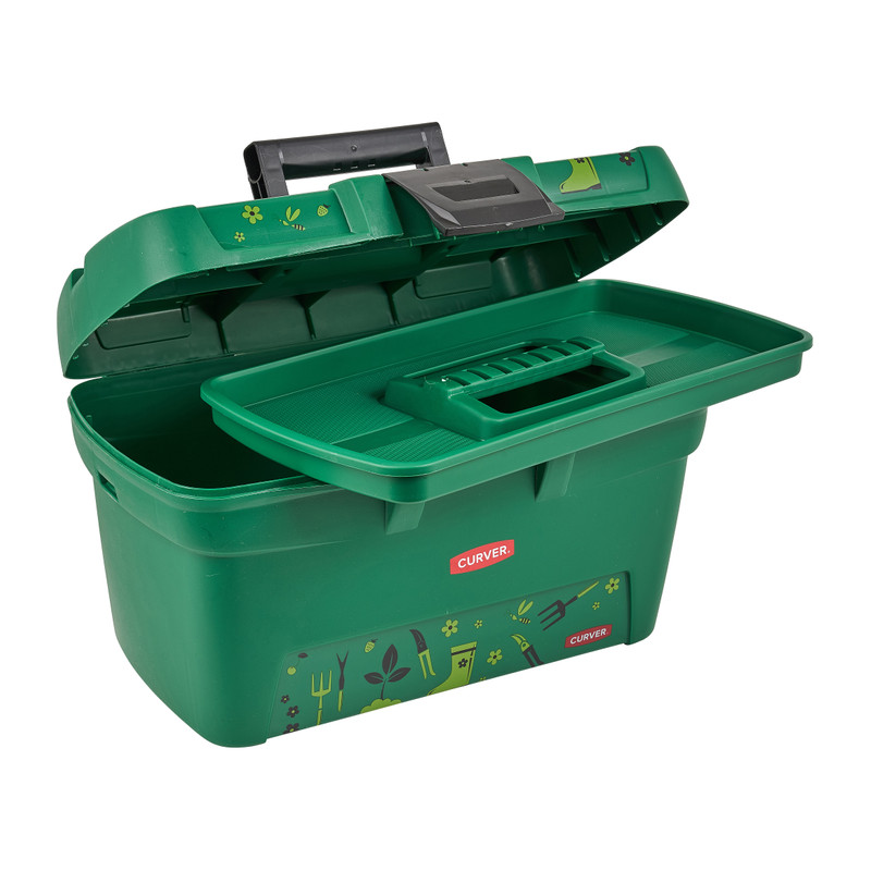 Opbergbox Voor Tuingereedschap.Curver Opbergbox Gardening