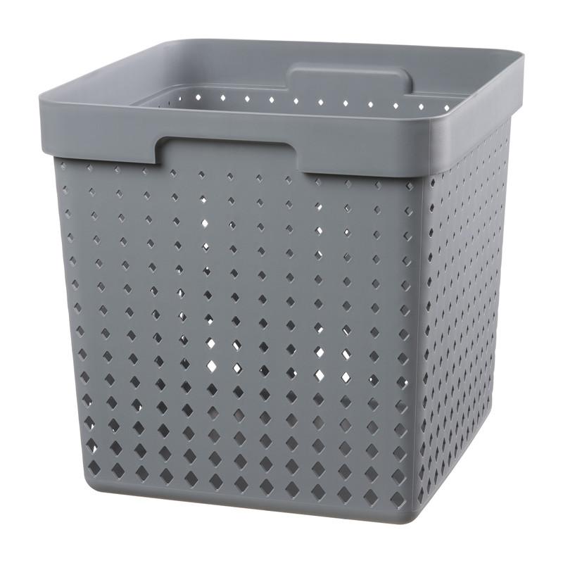 Mand xl - grijs - 29,5x29,5x29,5cm