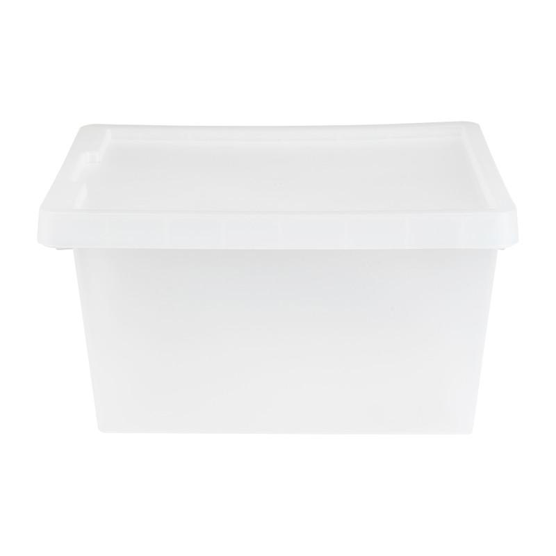 Opbergbox tag - Transparant - 21 L