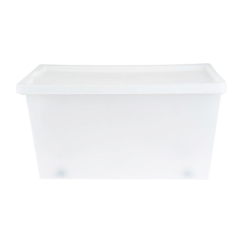 Opbergbox tag - Transparant - 70 L