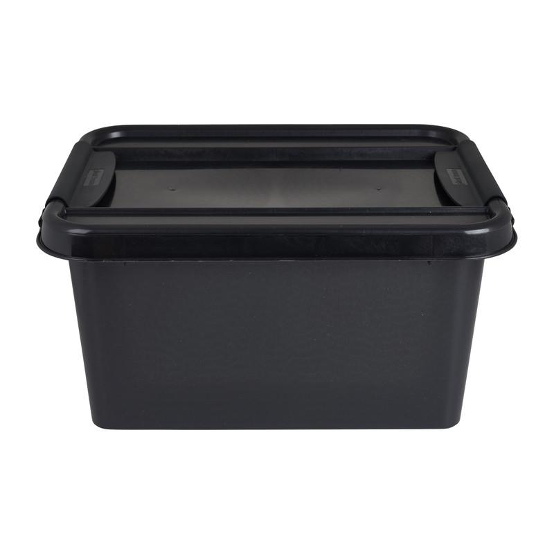 Opbergbox recycle - Zwart - 32L