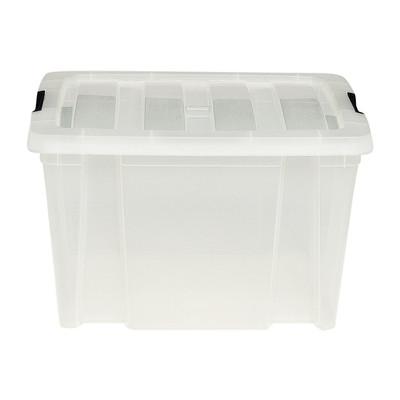 Clipbox - 30 liter - transparant
